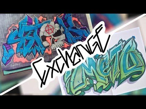 Stak X Meto | Exchange - Обмен | Graffiti - Граффити |
