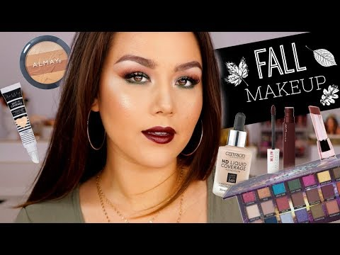 DRUGSTORE FALL MAKEUP TUTORIAL🍂🍁