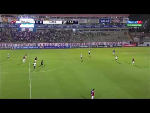 Paraná 1 x 1 Vasco - Gols & Melhores Momentos - BRASILEIRÃO 01/10/2018