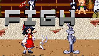 Mugen Request Reimu Hakurei Vs Bugs Bunny