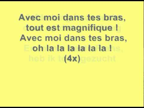 K3 - frans liedje + songtekst (lyrics)
