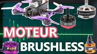 MOTEUR BRUSHLESS - fonctionnement - moteur de drone