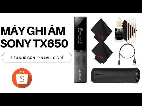 Máy Ghi Âm TX650 Máy Ghi Âm Giá Rẻ Tốt Nhất Của Sony Giảm Tới 50%  - Đánh Giá Nhanh