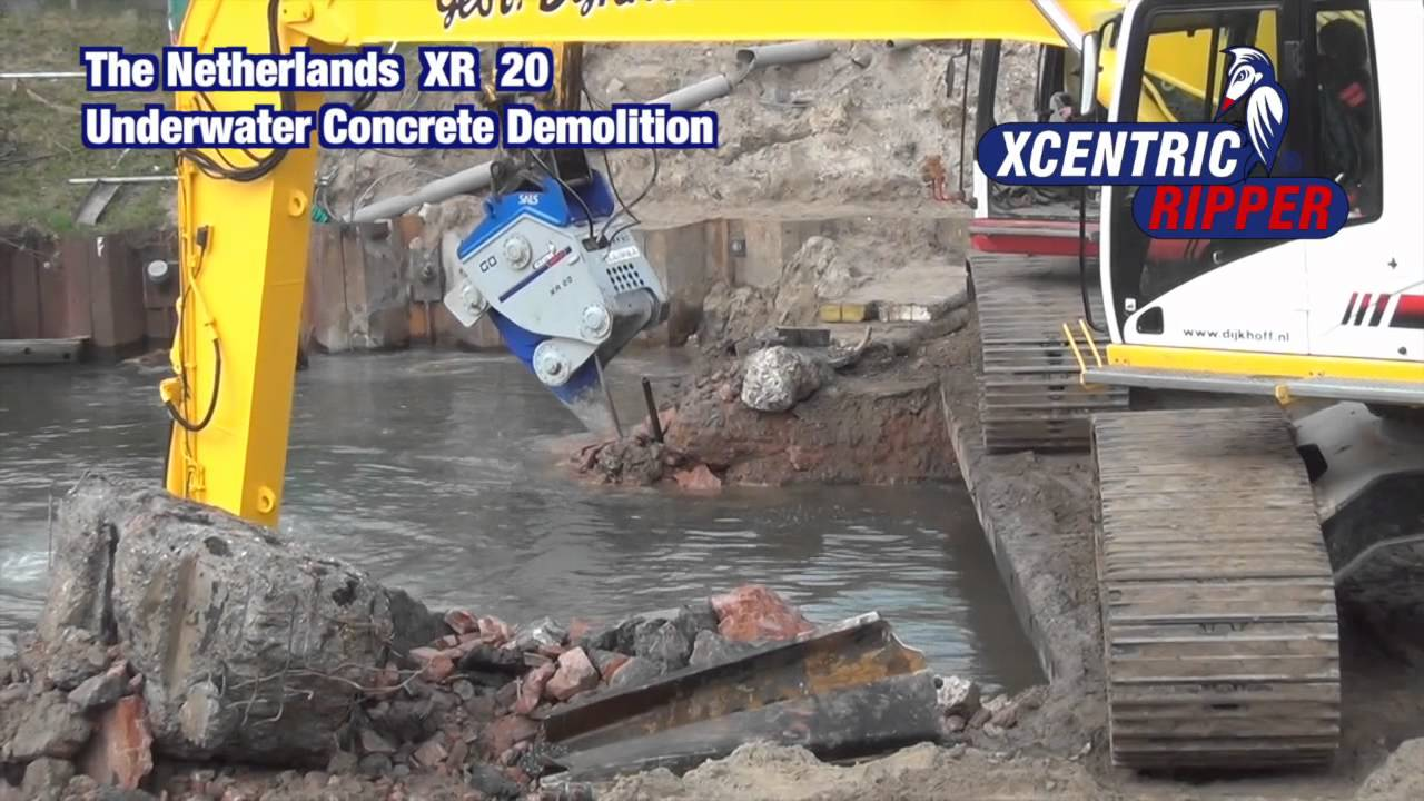 The Netherlands XR 20 Underwater Concrete Demolition