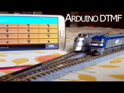 Arduino Blog » Control model trains wirelessly with your