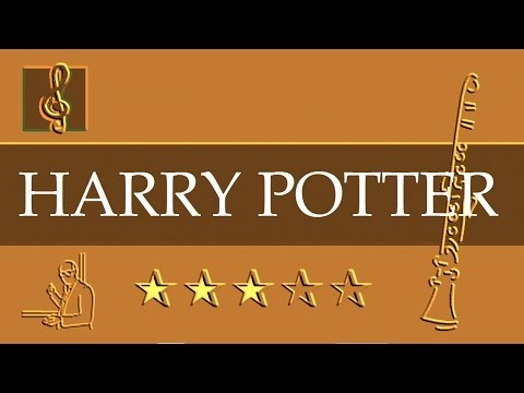 Clarinet Notes Tutorial  Harry Potter  Hedwigs Theme Sheet music