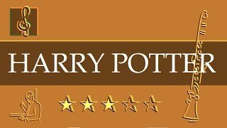 Download Clarinet Notes Tutorial - Harry Potter - Hedwig's Theme (Sheet music) MP3 song and Music Video