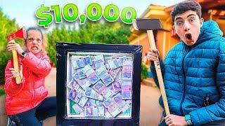 El primero en destruir la caja indestructible gana el dinero... *10.000€*
