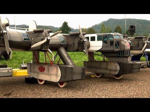 RC Kalinin K-7 Russian Калинин К-7 RC Model Airplane over 5 meter Wingspan