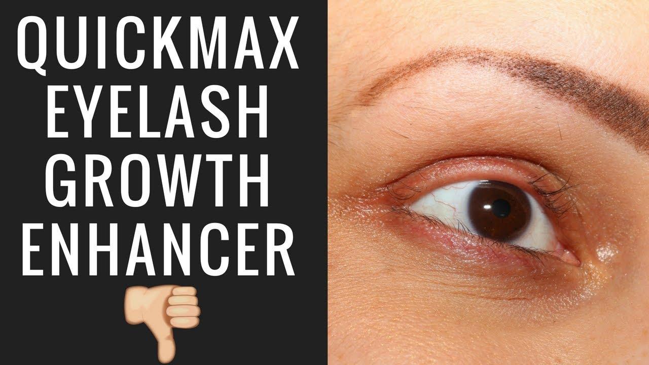 Quickmax Eyelash Growth Enhancer Youtube