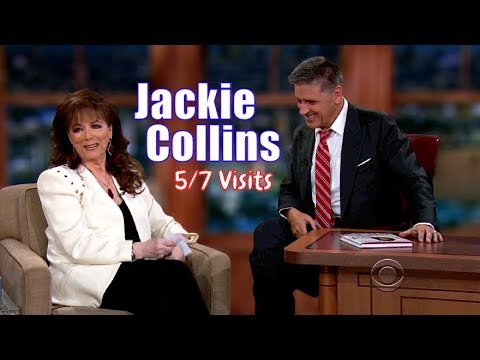 Jackie Collins - Dare I say? She Had A Filthier Mind Than Craig! - 5/7 Visits In chronological Order