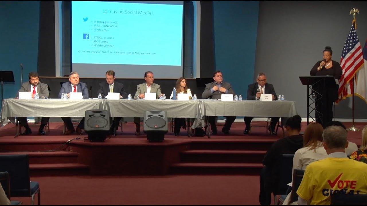 Bronx District 13 Candidate Forum 2017
