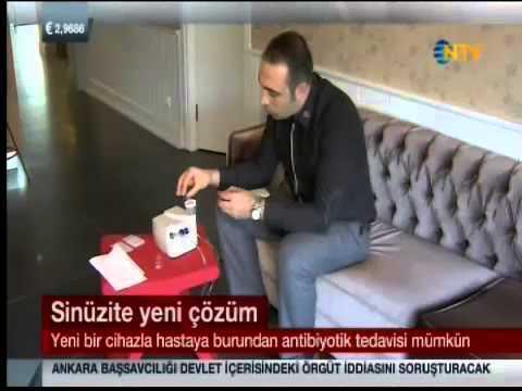 NTV Sinüzit tedavisinde yeni yöntem Nasoneb Dr. Süreyya Şeneldir