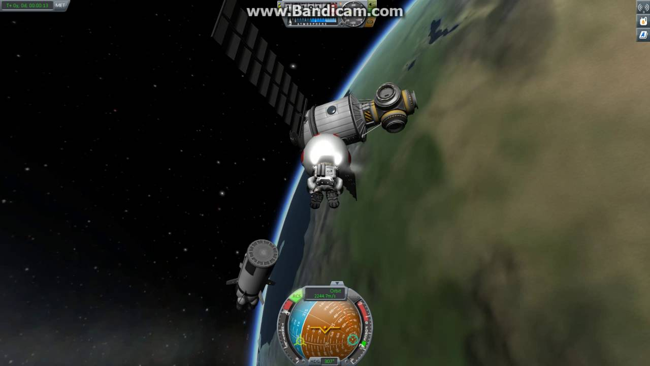 Kerbal Space Program Glitch: Ship Spinning While in EVA ...