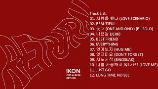 [Full Album] iKON – Return (Album)