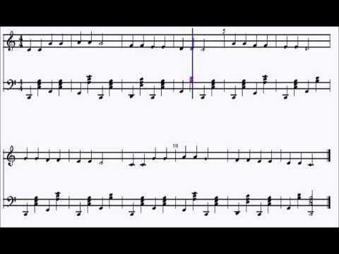 Sheet Notation for Twinkle Twinkle Little Star With Swing Chords ...