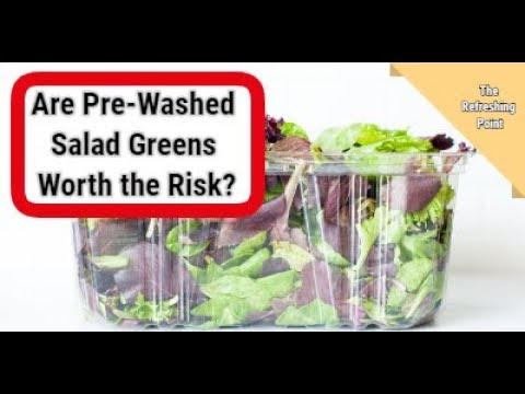 Why Pre-Washed Ready to Eat Salad Greens May Not Be Worth the Risk Bacterial Contamination