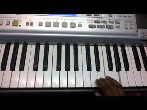 Engum Pugazh Rajanuke  tamil christian song keyboard notes