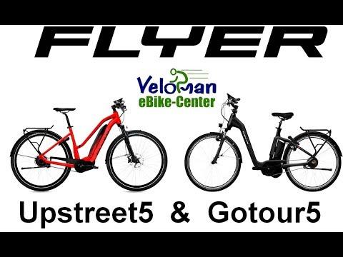 FLYER eBike 2018 - Upstreet5 & Gotour5 - Live-Vergleich bei Veloman
