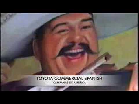 Campanas de America Toyota commercial 2