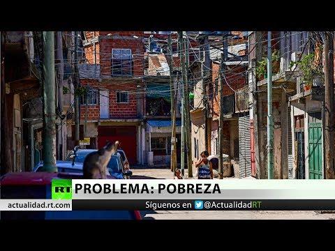 """""""En el país de la carne y la leche"""" millones de argentinos pasan hambre y son doblemente pobres"""