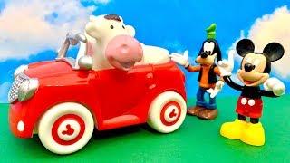 Myszka Miki i dziwna krowa  Bajka dla dzieci po Polsku