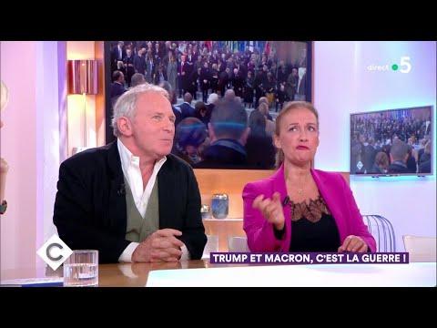 Trump Et Macron, C'est La Guerre ! - C à Vous - 14/11/2018