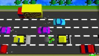 Frogger PC Retro Level 1