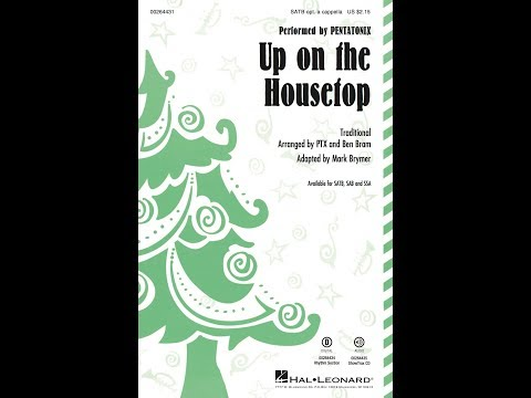 Up on the Housetop (SATB) - Arranged by Mark Brymer