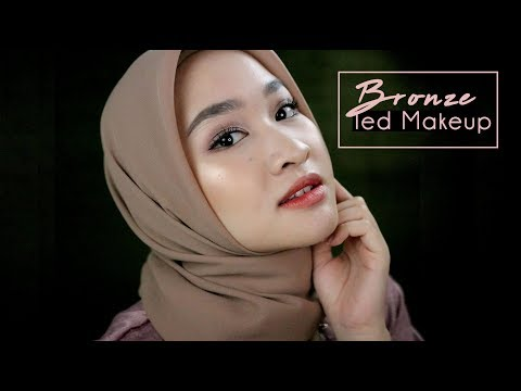 Makeup Bronze Lebaran Simple & Tahan Lama 2018 | Kiara Leswara