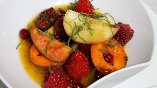 Salade de fruits d'été par Alain Ducasse