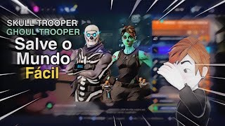 HOW TO Get the SKULL TROOPER and GHOUL TROOPER in the SAVE the WORLD! • Fortnite | Xbox One/PS4/PC