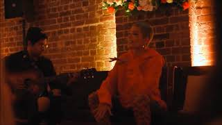 Halsey - Bad At Love (Acoustic) Live At House Of Spera PopUp