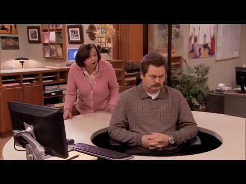 Новый рабочий стол Рона Свонсона