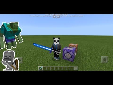 Buat Pedang Laser Di Minecraft (Minecraft Indo)