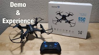 SNAPTAIN S5C WiFi FPV Drone with 720P HD Camera - Experience and Review