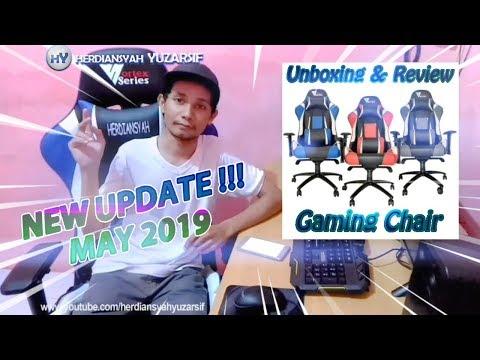 RILIS TERBARU ! Vortex W Series Blue - Unboxing & Review Kursi Gaming Indonesia (Update Mei 2019)