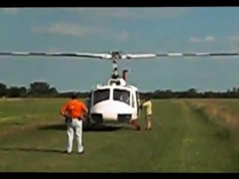 Helicoptero despegando EAA 2012