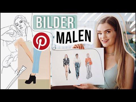 3-bilder-malen-diy's---fashion-illustration-/-modezeichnung-//-i'mjette