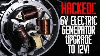 HACKED!: 6V Electric Generator UPGRADE to 12V!