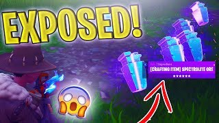 *NEW* Leaving the game whilst trading Scammers Spectrolite Ore! (EXPOSED) - Fortnite Save The World