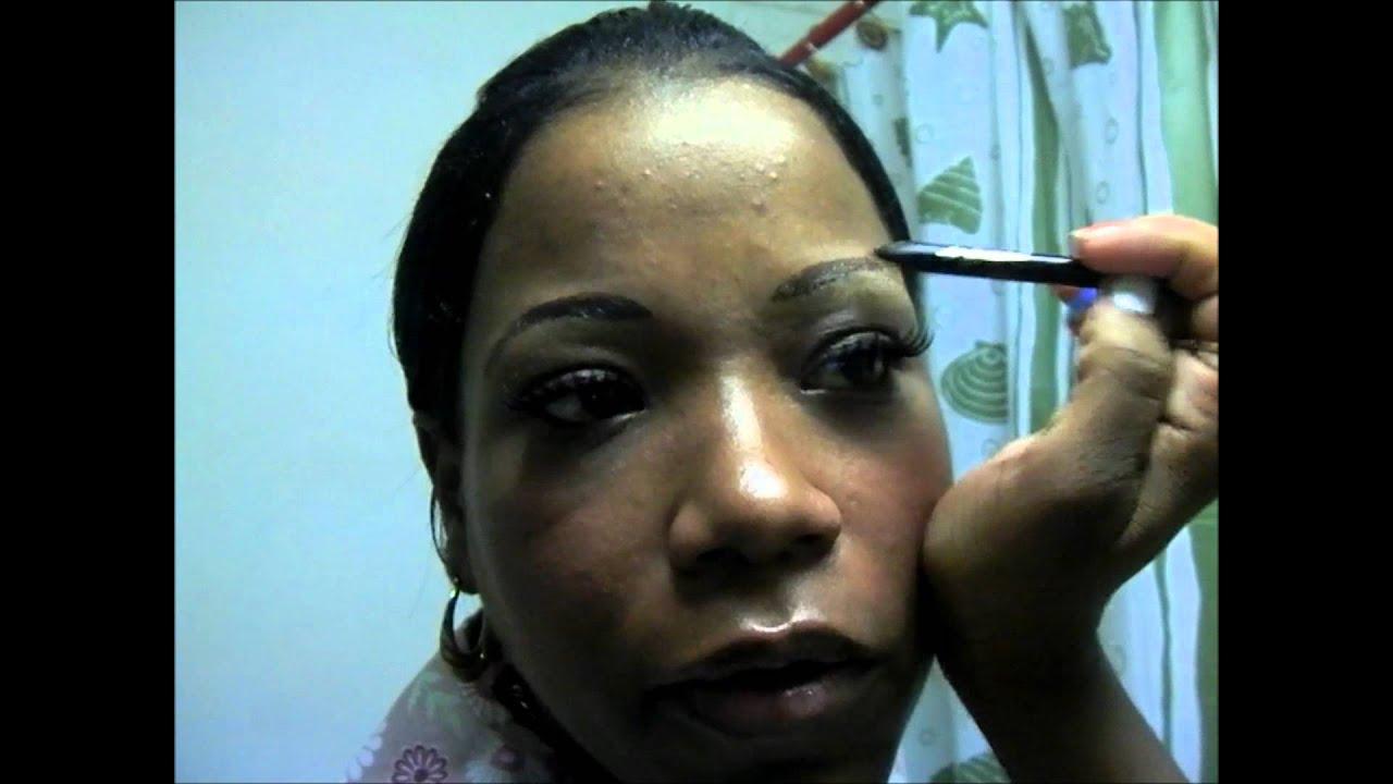 Temporary Eyebrow Tattoo I Love It Youtube