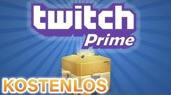 Gratis TWITCH PRIME ACCOUNT (kostenlose Games) - So gehts!