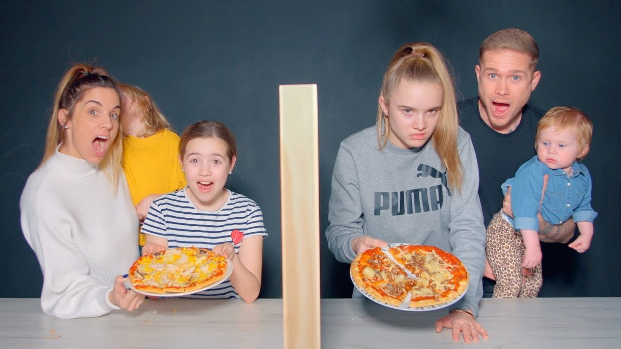 Twin Telepathy Pizza Challenge Youtube