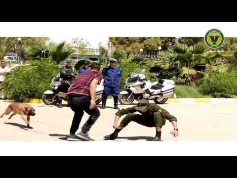 مناورات قوات الدرك الوطني - فرقة التدخل SSI