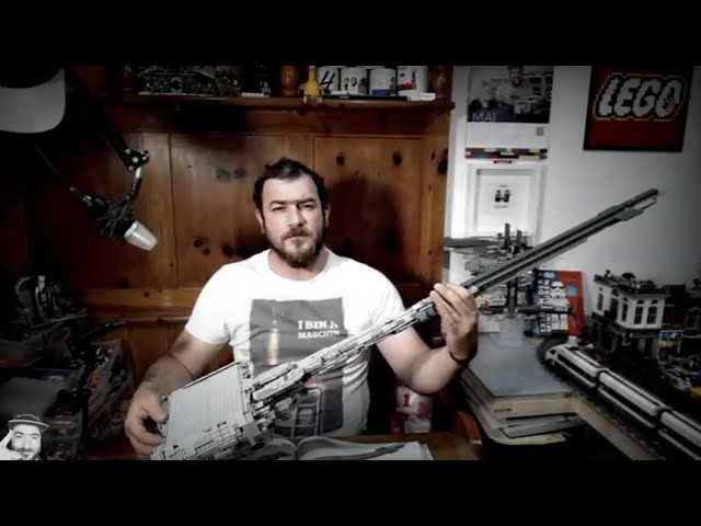 Nebulon B - StarWars - Mouldking 21001 - Die Gitarre - Teil 2 (54)