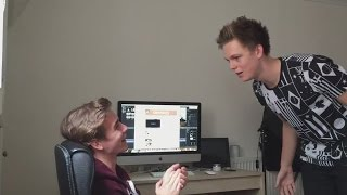 GIRLFRIEND PRANKS MY ROOMMATE - Caspar Lee TranslatedUP! [rus_sub]