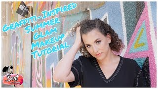 Graffiti-Inspired Summer Glam Makeup Tutorial | SheldonBruckMUA