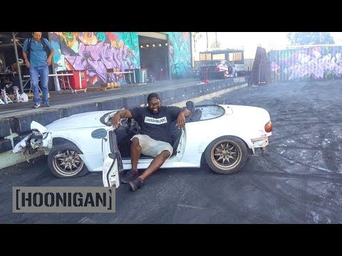 [HOONIGAN] DT 116: Hert Crashes the $200 Miata…Then Does Donuts