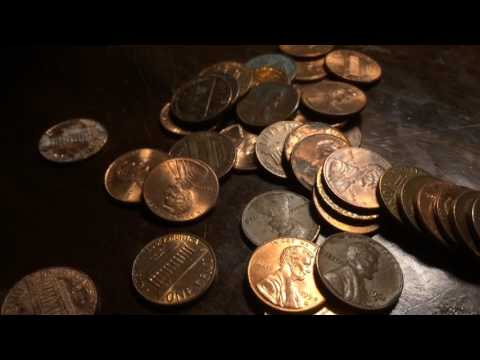 TONED 1800's INDIAN! -Coin Roll Hunting-